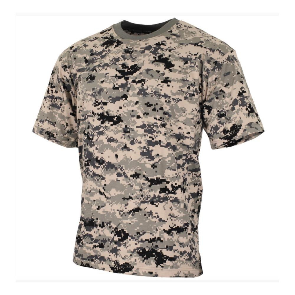 Taille XL T-Shirt digital-woodland militaire us army